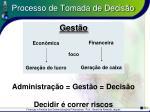 processo de tomada de decis o19