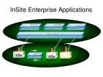 insite enterprise applications