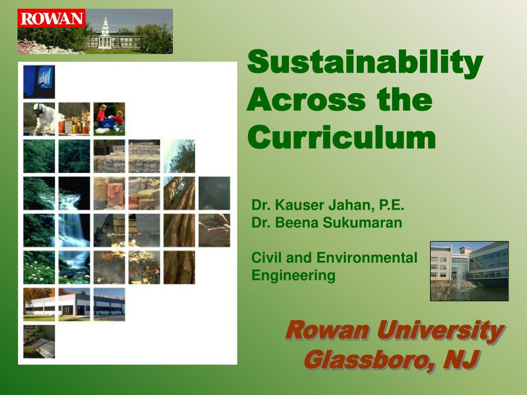 sustainability across the curriculum l.