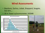 wind assessments