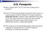 u s passports