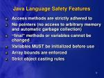 java language safety features16