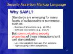 security assertion markup language133