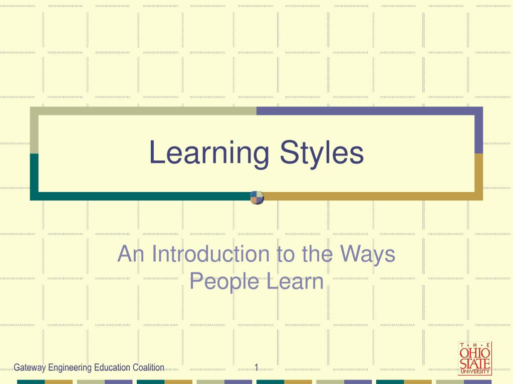 learning styles l.