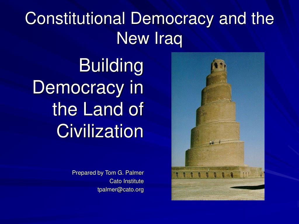 constitutional democracy and the new iraq l.