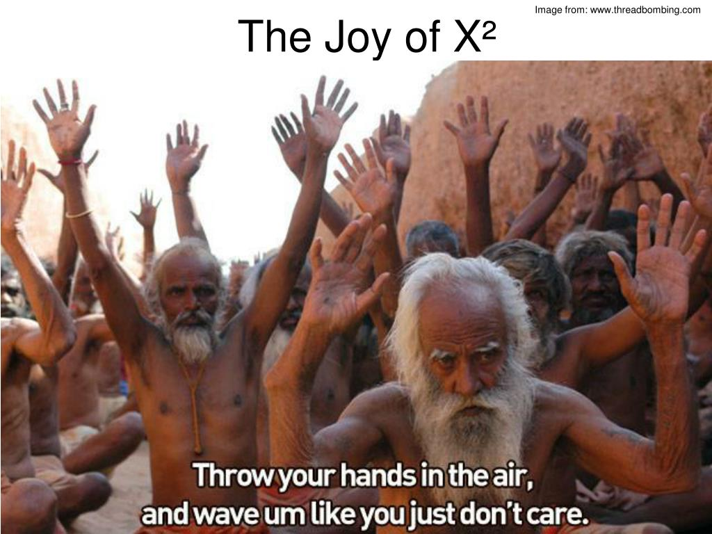 the joy of x l.