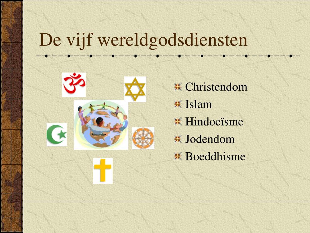 de vijf wereldgodsdiensten l.