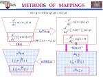 method of mappings