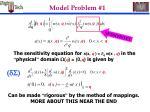 model problem 1