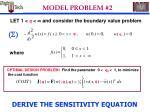model problem 2