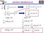 model problem 218