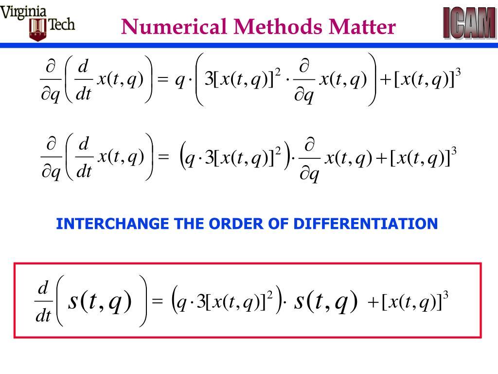 Numerical Methods Matter