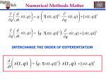 numerical methods matter46