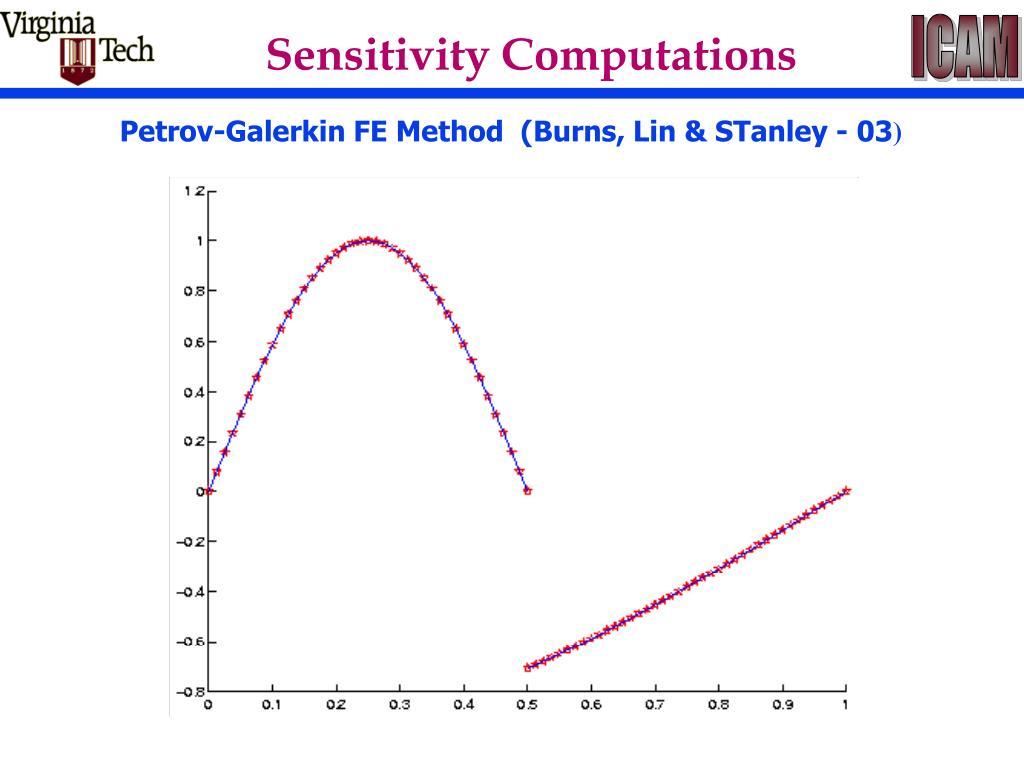 Sensitivity Computations