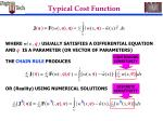 typical cost function