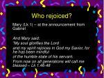 who rejoiced12