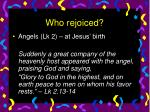 who rejoiced14