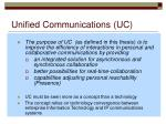 unified communications uc