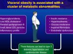 visceral obesity is associated with a cluster of metabolic abnormalities