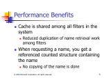 performance benefits