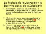 la teolog a de la liberaci n y la doctrina social de la iglesia 4