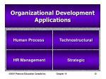organizational development applications