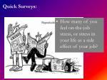 quick surveys