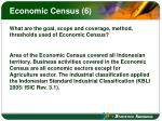 economic census 6