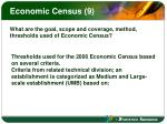 economic census 9