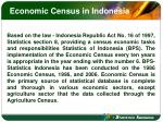 economic census in indonesia