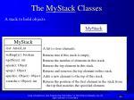 the mystack classes40