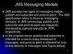 jms messaging models