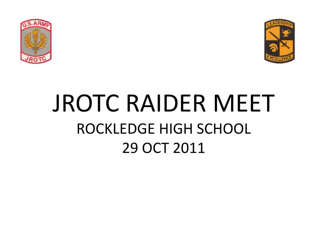 jrotc raider meet rockledge high school 29 oct 2011 l.