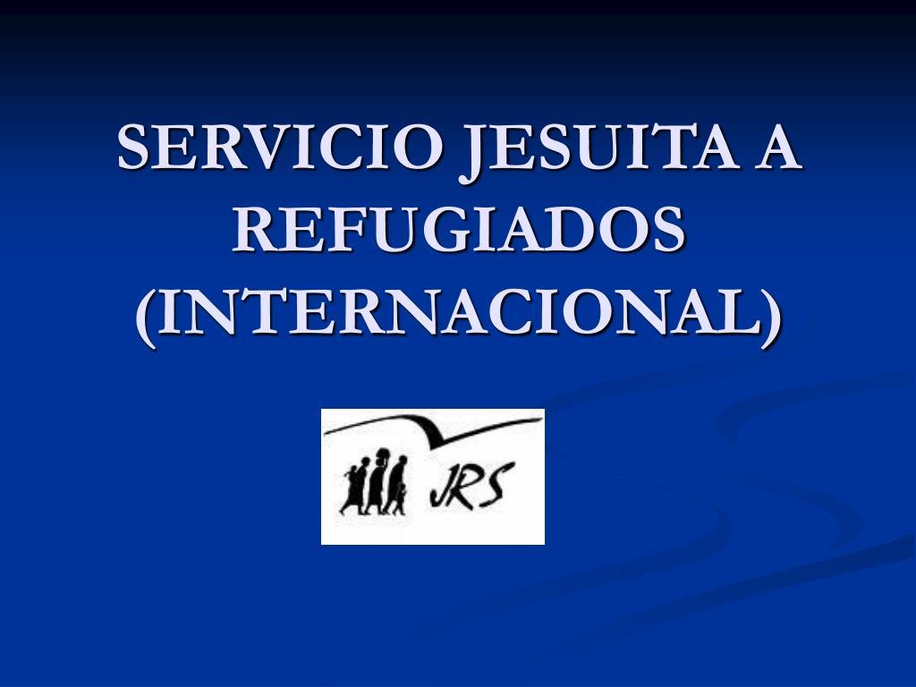 servicio jesuita a refugiados internacional l.