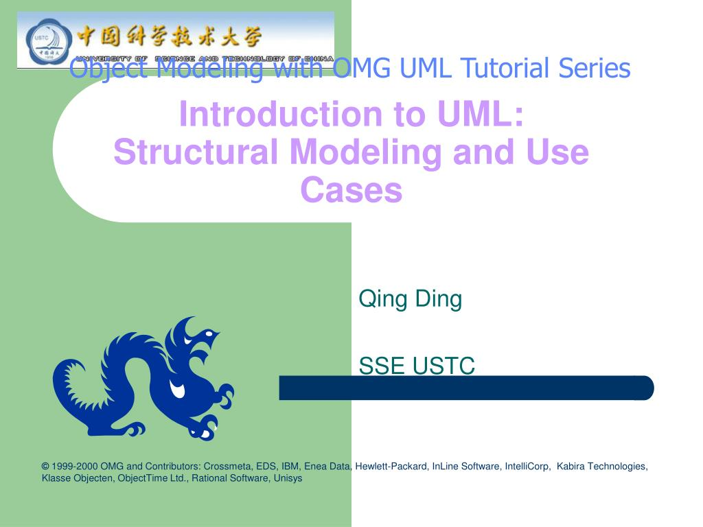 introduction to uml structural modeling and use cases l.