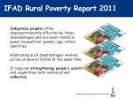 ifad rural poverty report 20111