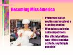 becoming miss america
