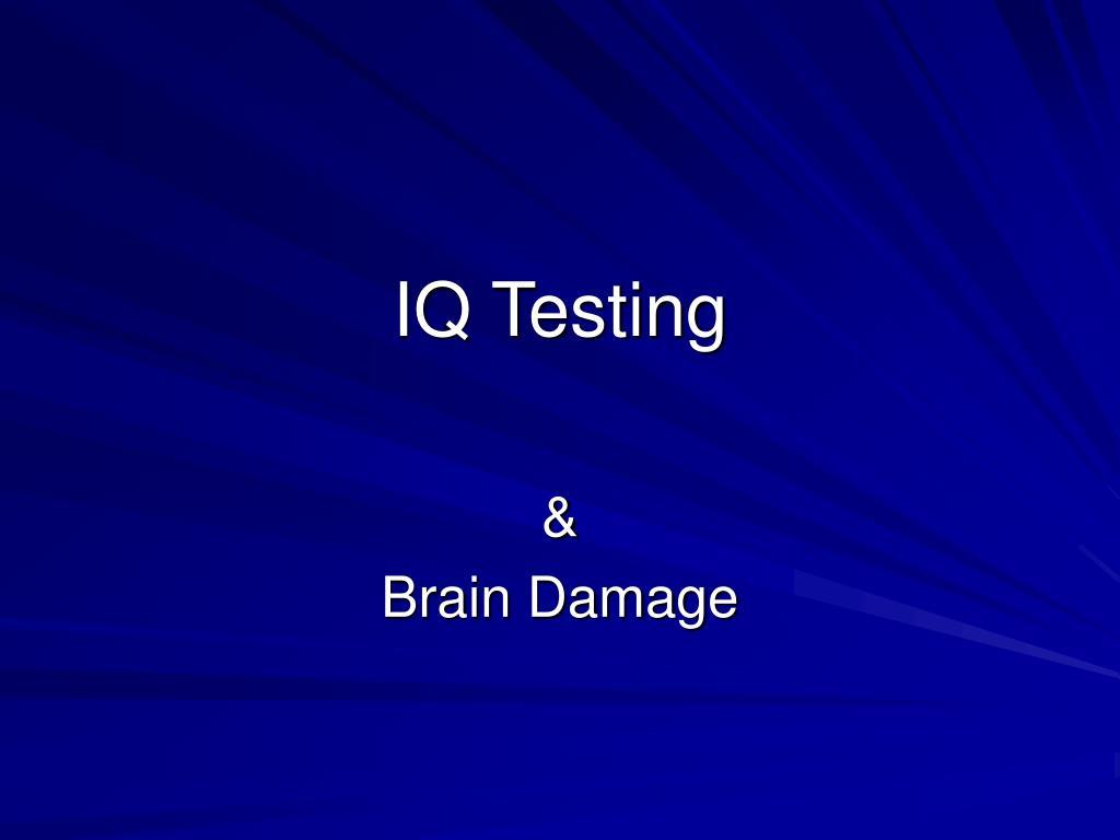 iq testing l.