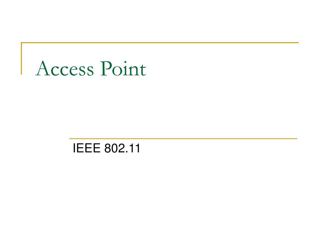 access point l.