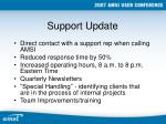 support update