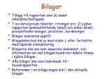 bilagor