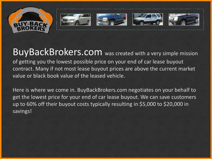 BuyBackBrokers.com