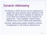 dynamic addressing23