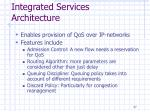 integrated services architecture