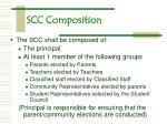 scc composition