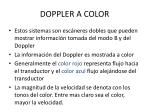 doppler a color