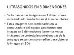 ultrasonidos en 3 dimensiones