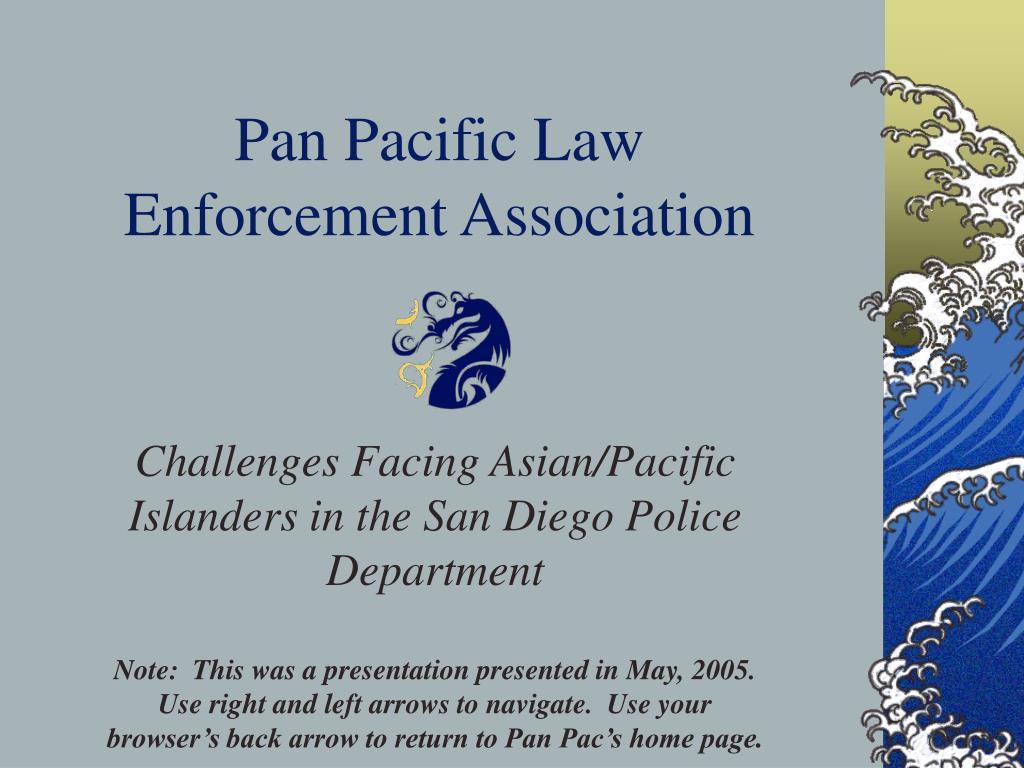 pan pacific law enforcement association l.