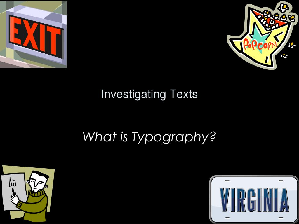 investigating texts l.