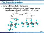 cis trans isomerism53
